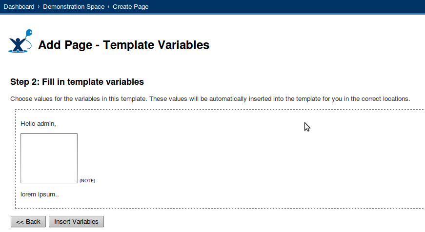 confluence create page template - blog archive how to create a template