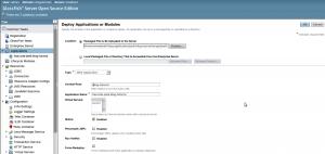 GlassFish Application Deployment Step 1