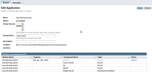 GlassFish Application Deployment Step 3