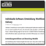 Seibert Media Blog: Software development lifecycle, branching models, continuous delivery and tool integration (german language)