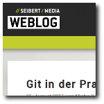 Seibert Media Blog: Git in Practice - Keeping the commit history clean with fixup and autosquash (german language) (web)