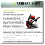 //SEIBERT/MEDIA Weblog; JSR 203: Die neuen I/O-Schnittstellen in Java 7 (german language) (web)