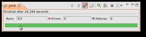 jUnit Testrunner in Eclipse IDE