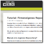 Seibert Media Blog: Firmeneigenes Repository mit Sonatype Nexus aufsetzen
