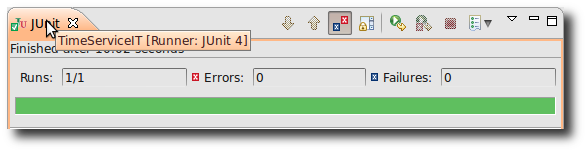 JUnit Runner goes green