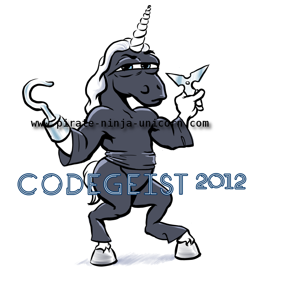 Atlassian Codegeist and Pirate Ninja Unicorn