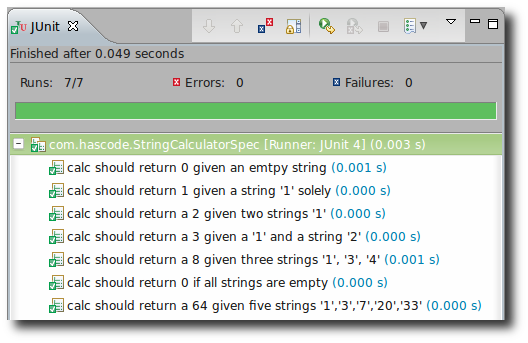 Running ScalaTest with JUnit in Eclipse