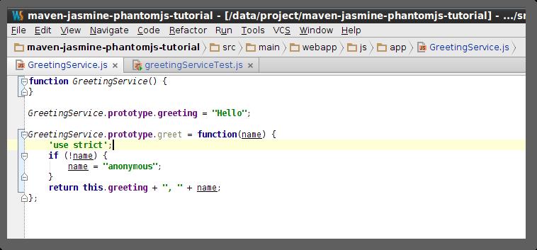 Running JavaScript Tests with Maven, Jasmine and PhantomJS