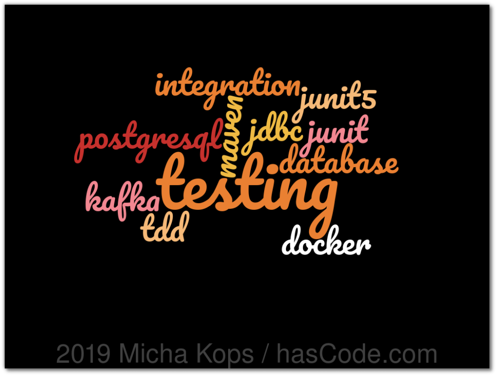 Testcontainers Integration Testing